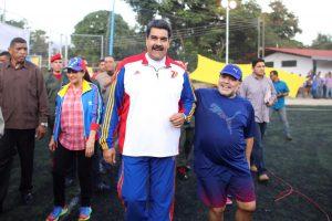 Nicolás Maduro anunció homenaje conmemorativo en todo Venezuela por Diego Maradona