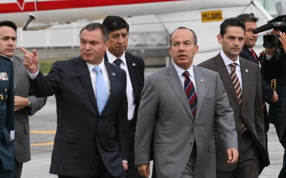 Genaro García y Felipe Calderón