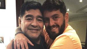 """Diego Maradona Jr se despidió de su padre: """"Venme a buscar tú cuando llegue mi hora"""""""