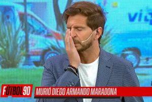 No contuvieron la pena: Así informó la prensa deportiva argentina en vivo la muerte de Diego Armando Maradona