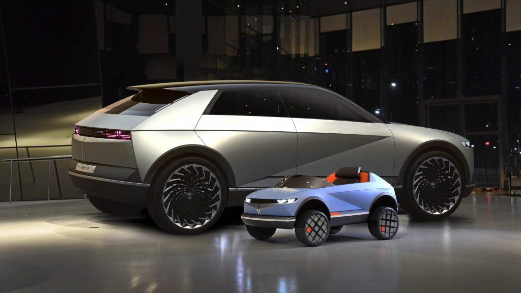 Conoce el vehículo eléctrico más pequeño producido por Hyundai