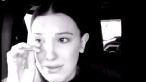 Millie Bobby Brown se puso a llorar por altercado con una fan y pidió respeto
