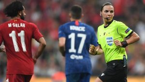 Por primera vez una mujer arbitrará un partido de la UEFA Champions League