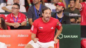 Nicolás Massú nuevamente fue nominado para el mejor entrenador del año en la ATP