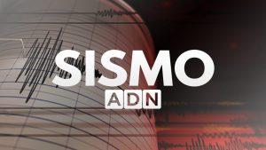 Se registra temblor de mediana intensidad en la zona central del país