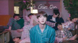 """""""Life Goes On"""" de BTS se convirtió en la primera canción no inglesa en debutar en el #1 del Billboard Hot 100"""