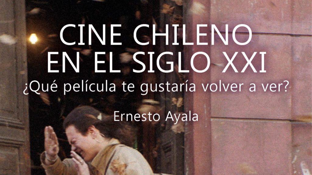 """Ernesto Ayala lanzó nuevo libro: """"Si el cine chileno no logra una relación afectiva con su público no va a tener éxito"""""""