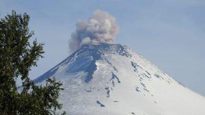 Sernageomin informó pulso eruptivo en Volcán Villarrica