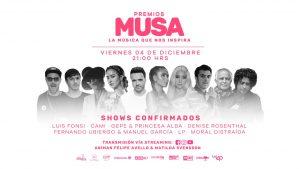 Este viernes 4 de diciembre se entregan los Premios MUSA