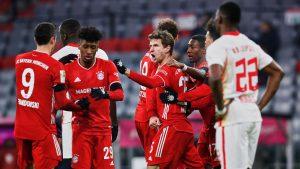Bayern Múnich empató en un partidazo con el Leipzig por la Bundesliga