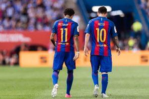 """Neymar desató un sismo en la prensa europea: """"Lo que más quiero es volver a jugar con Messi"""""""