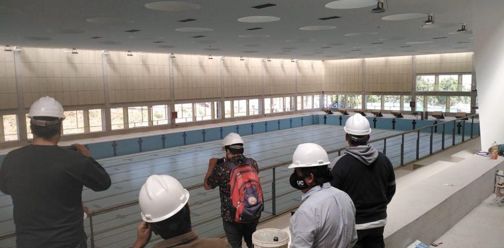 Canchas y piscina: Los avances del nuevo Complejo Deportivo de Universidad Católica