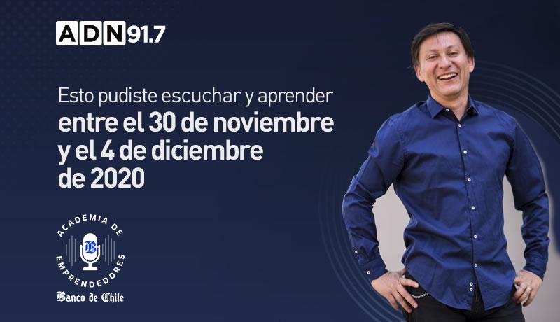 Contabilidad, marketing digital y plan de negocio fueron parte de esta semana de Academia de Emprendedores Banco de Chile