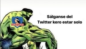 """Kero estar solo"": Hinchas de Colo Colo se lamentan a puro meme"