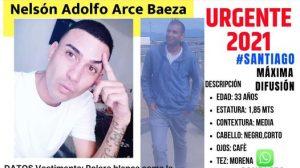 Familia y personal policial buscan intensamente a joven desaparecido en Santiago