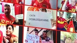 """""""Cata desbloquéame"""": La insólita petición de un hincha durante el partido entre Huachipato y Unión Española"""