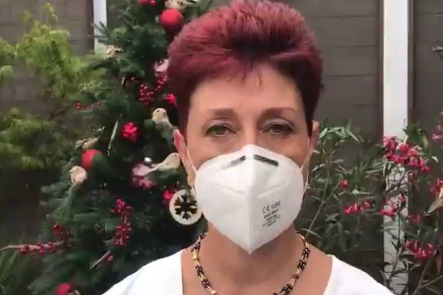 """Doctora Herrera publicó impactante imagen de paciente con Covid: """"No dejes que sea la última de la persona que tú más quieres"""""""