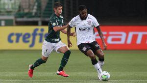 Benjamín Kuscevic fue titular en la contundente goleada del Palmeiras sobre el Corinthians