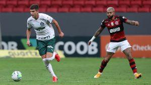 Flamengo de Mauricio Isla derrotó al Palmeiras con desafortunado blooper de Benjamín Kuscevic