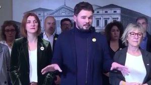 Cibernautas chilenos revivieron video viral del diputado español Gabriel Rufián