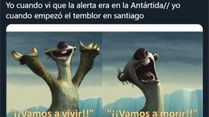 """""""Que venga el 2021 decían"""": Twitteros se lucieron con memes tras temblor 5,9 en Farellones"""