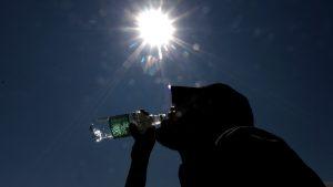 Calor: revisa el pronóstico del tiempo para este lunes en Santiago