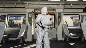 Ministerio de Transportes informó más de 82 mil sanitizaciones en el Transantiago