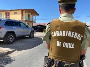 Carabineros detuvo a una persona que realizaba quema de pastizales en el sector de Casablanca
