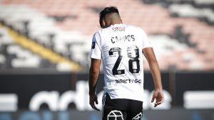 Colo-Colo confirmó desgarro de Felipe Campos tras el superclásico
