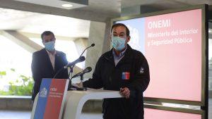 """Onemi aseguró que """"no hubo error humano"""" en envío de mensaje de alerta de evacuación a todo el país"""
