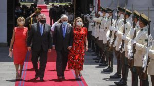 Encuentro de presidentes Piñera y Fernández en Chile estuvo marcado por la pandemia del coronavirus