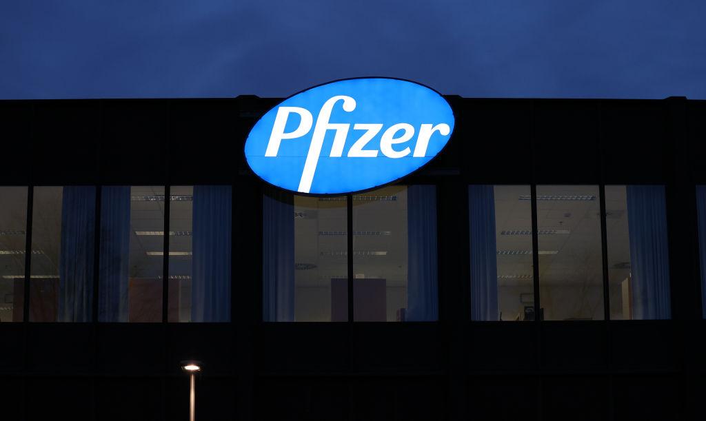 Una de las fábricas de Pfizer en Amberes