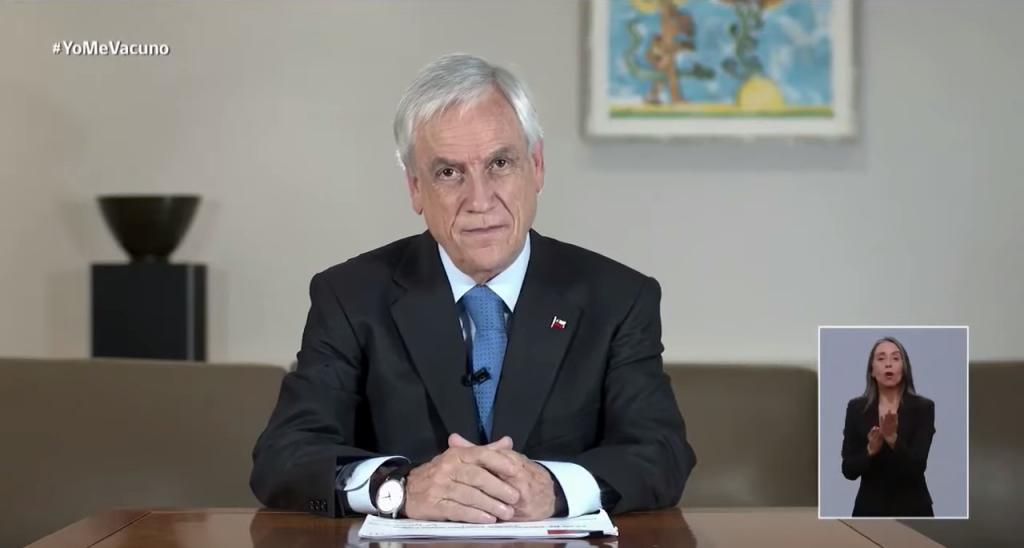"""""""Fase masiva"""": Presidente Piñera anunció que llegarán cuatro millones de vacunas Sinovac entre el 28 y 31 de enero"""
