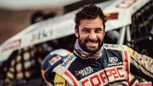 """Francisco """"Chaleco"""" López tras coronarse campeón en el Dakar: """"Agradecerles por todo el apoyo y nos vamos con el oro para la casa"""""""