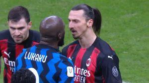 Casi se fueron a las manos: El duro encontrón entre Zlatan Ibrahimović y Romelu Lukaku