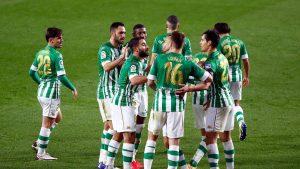 Real Betis sin Claudio Bravo, derrotó como local al Celta de Vigo por La Liga