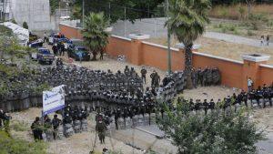 Guatemala impidió el avance de la caravana migrante que viajaba hacia EEUU