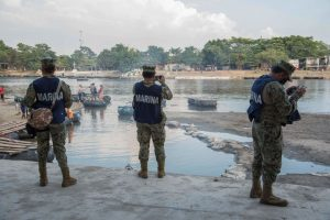 México decidió militarizar su frontera sur para frenar a la caravana migrante