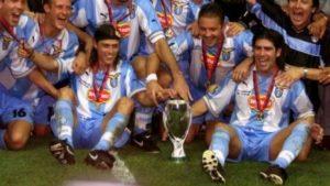 Con Beckham en cancha: El día que Matías Almeyda y Marcelo Salas fueron campeones ante Manchester United