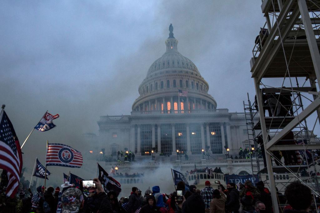 El asalto al Capitolio de EEUU en Washington