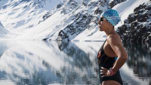 """Bárbara Hernández, la """"Sirena de Hielo"""": No tengo un sueldo como nadadora, tengo que hacer malabares para seguir compitiendo"""