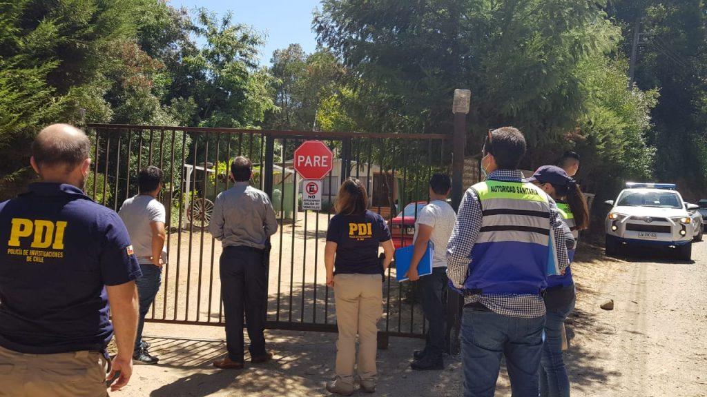 PDI encontró a 77 personas en un camping en Concepción: 31 de ellos estaban en una ceremonia religiosa