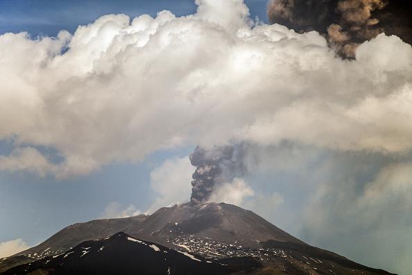 Erupción del volcán Etna