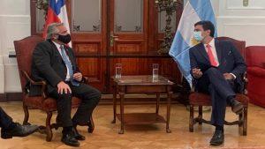 Presidente Alberto Fernández se reunió con la mesa directiva de la Cámara de Diputadas y Diputados