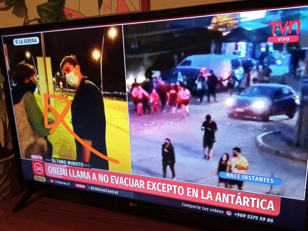 """""""No quería evacuar porque estaba comiendo fideos"""": El aplaudido testimonio de una pareja en Coquimbo tras fallida alerta"""