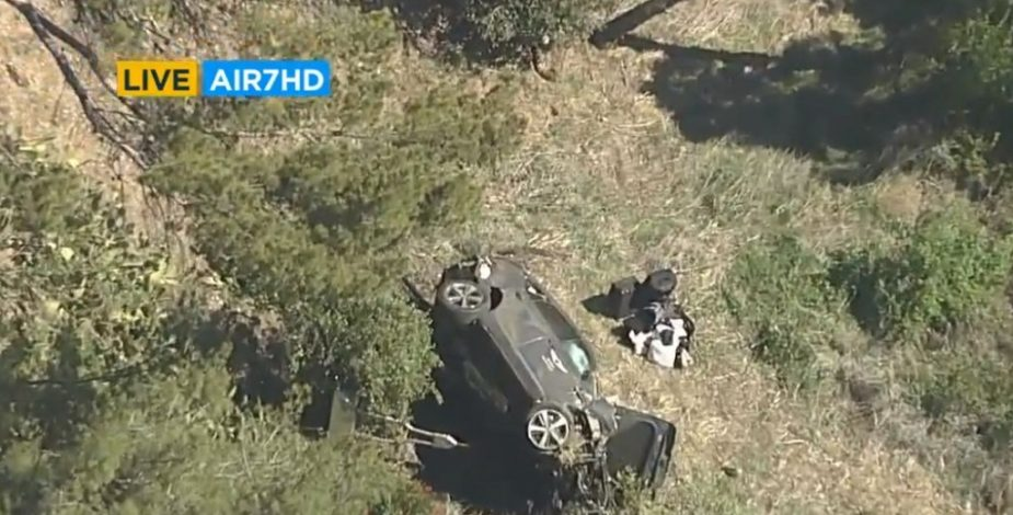 Tiger Woods sufrió un grave accidente automovilístico