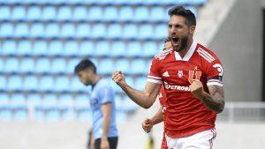 """Joaquín Larrivey se ilusiona con avanzar en Copa Libertadores: """"Creo que tenemos material como para pelearle de igual a igual a cualquiera"""""""