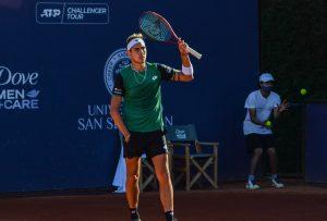 Alejandro Tabilo fue duramente superado por Sebastián Báez en la qualy del ATP de Buenos Aires