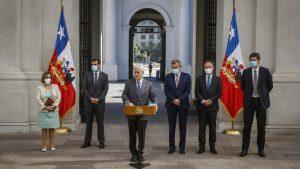 """Presidente tras reunión con los tres poderes del Estado por violencia en la macrozona sur: """"Vamos a enfrentar con toda la fuerza el terrorismo"""""""