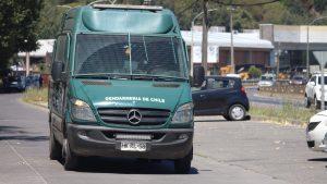 Con incidentes terminó el traslado del tío abuelo de Tomás Bravo a la cárcel de Concepción